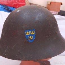 Militaria: CASCO SUECO.. Lote 56014426