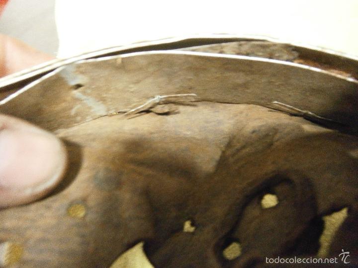 Militaria: interior original casco aleman talla 55 - Foto 4 - 56283287