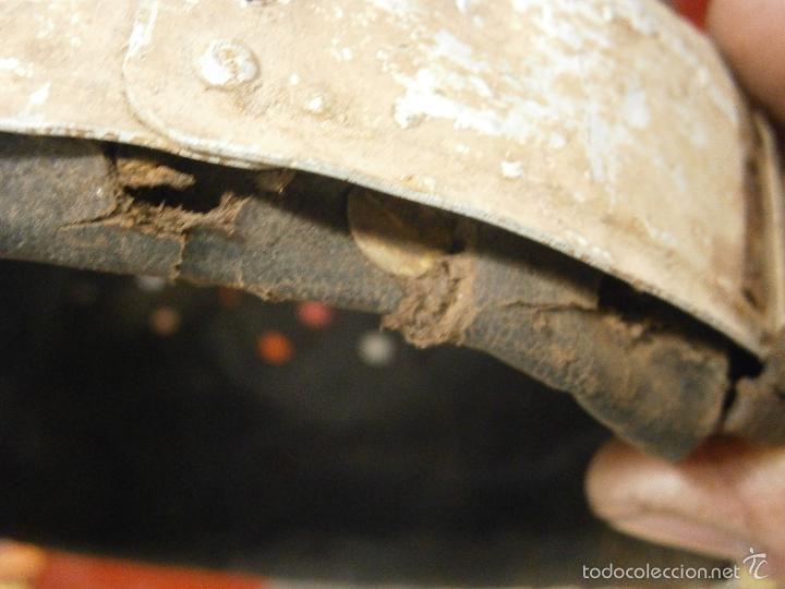 Militaria: interior original casco aleman talla 55 - Foto 9 - 56283287