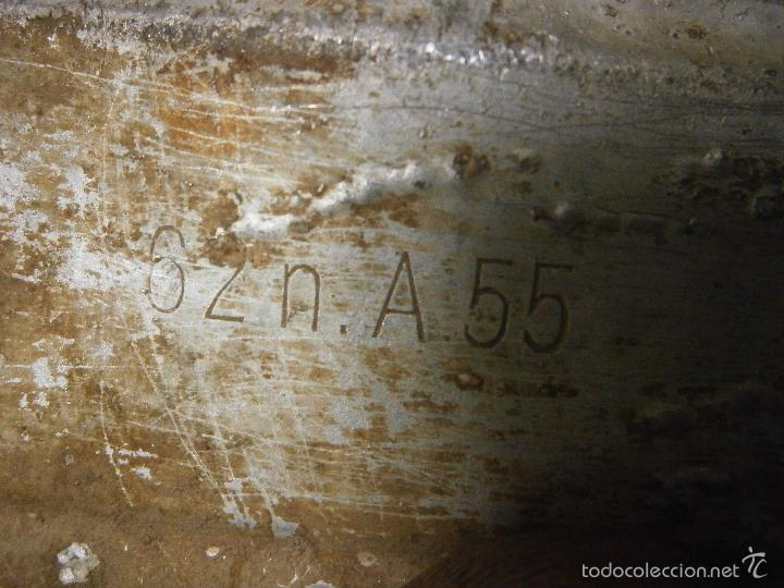 Militaria: interior original casco aleman talla 55 - Foto 16 - 56283287