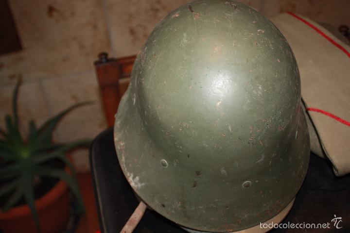 Militaria: CASCO MODELO TRUBIA - Foto 3 - 56750401