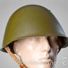 Militaria: CASCO SOVIÉTICO (RUSO) URSS, SSH-68 ORIGINAL. Lote 56994754