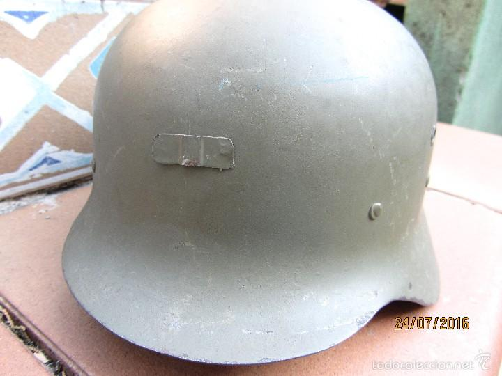 Militaria: casco posguerra Z42 79 - Foto 2 - 58267114