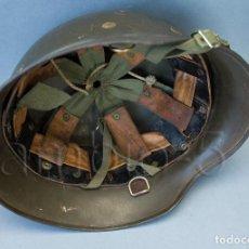 Militaria: CASCO ALEMÁN MOD. 35 MARCA ET 66 - UTILIZADO EN ESPAÑA GUARNICIÓN MOD. Z42/79. Lote 62142676