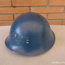 Militaria: * ANTIGUO CASCO DE POLICIA DE CANADA, MK TIPO INGLES, CON SU INTERIOR. ZX. Lote 62275672