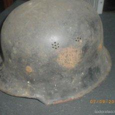Militaria: CASCO ALEMAN M34, SEGUNDA GUERRA MUNDIAL. Lote 156543456