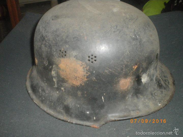 Militaria: CASCO ALEMAN M34, SEGUNDA GUERRA MUNDIAL - Foto 4 - 156543456