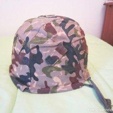 Militaria: FUNDA MODELO ROCOSO USADA POR LA LEGION PARA CASCO Z. Lote 63936647