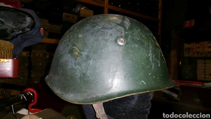 CASCO MODELO ITALIANO AÑOS DESCONOZCO PAÍS DE UTILIZACIÓN (Militar - Cascos Militares )
