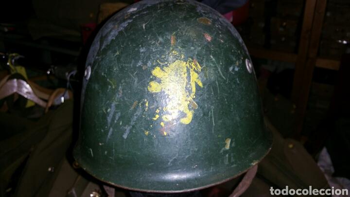 Militaria: Casco modelo italiano años desconozco país de utilización - Foto 2 - 67971953