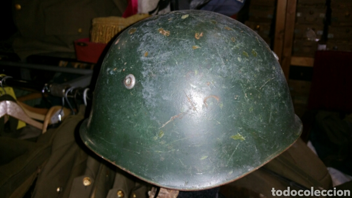 Militaria: Casco modelo italiano años desconozco país de utilización - Foto 3 - 67971953