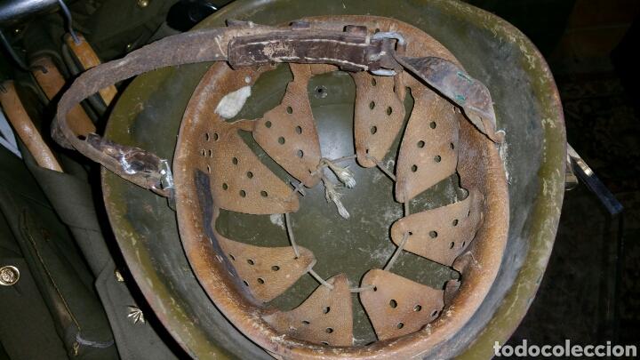 Militaria: Casco modelo italiano años desconozco país de utilización - Foto 4 - 67971953