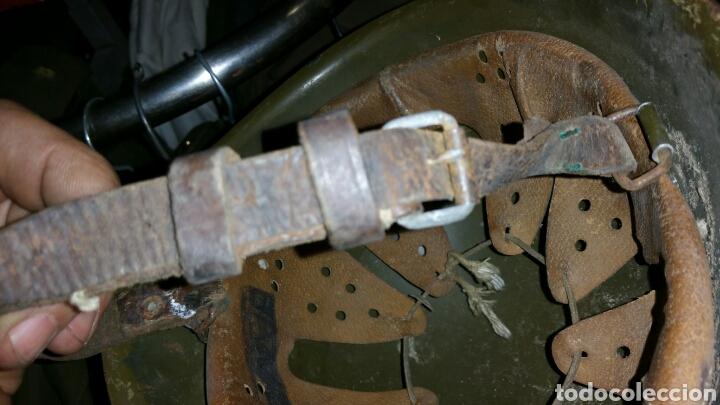 Militaria: Casco modelo italiano años desconozco país de utilización - Foto 5 - 67971953