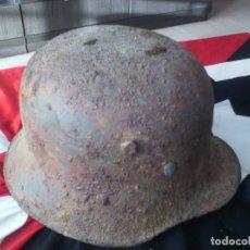 Militaria: CASCO ALEMÁN M16 CON CALCA. Lote 68570665