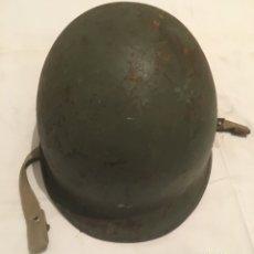 Militaria: CASCO MILITAR M 1 PARACAIDISTAS EJÉRCITO ESPAÑOL. Lote 68995497