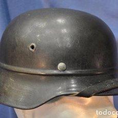 Militaria: ALEMANIA III REICH. CASCO MODELO 1935-40 REBORDEADO. LUFTSCHUTZ.. Lote 69521145