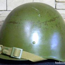 Militaria: CASCO RUSO SSH 40 - MODELO 2GM - ORIGINAL EN PERFECTO ESTADO - STALNOY SHLEM 40. VER MARCAJE. Lote 72362303