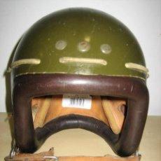 Militaria: CASCO MILITAR DE FIBRA PLASTICA BALISTICA DE PARACAIDISTA M-80 CHECO.. Lote 73478027