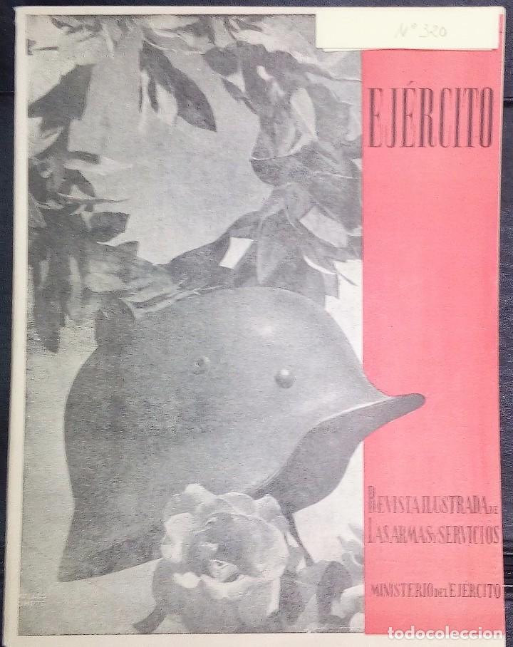 REVISTA ILUSTRADA DE LAS ARMAS Y SERVICIOS-MINISTERIO DEL EJERCITO-Nº 320 SEPTIEMBRE-1966. (Militar - Cascos Militares )
