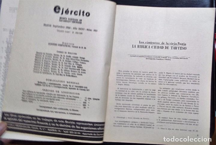 Militaria: REVISTA ILUSTRADA DE LAS ARMAS Y SERVICIOS-MINISTERIO DEL EJERCITO-Nº 320 SEPTIEMBRE-1966. - Foto 2 - 76355599