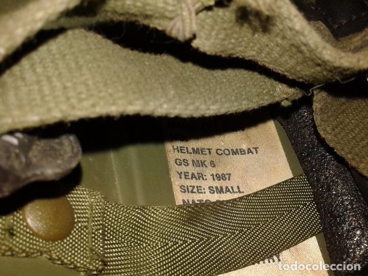 Militaria: CASCO BRITANICO MK-VI - Foto 5 - 76944773