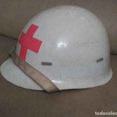 Militaria: ANTIGUO CASCO DE LA CRUZ ROJA ESPAÑOLA.. Lote 78445089