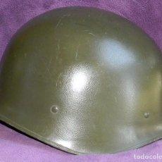 Militaria: CASCO FRANCES ORIGINAL M51 - MARCAJE M.R.C. EVREUX - PERFECTO ESTADO. Lote 79156225