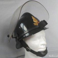 Militaria: CASCO BOMBERO - MILAN - PANTALLA FIBRA VIDRIO. Lote 81702456