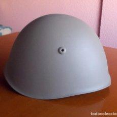 Militaria: CASCO M33 ITALIA RESTAURADO PARA G. C. ESPAÑOLA. O 2 G.M. TALLA 57 EN EL CUERO, 56 EN EL CASCO.. Lote 118599494