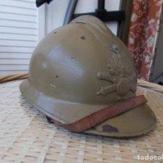 Militaria: CASCO ADRIAN DE LA ARTILLERÍA COLONIAL FRANCESA. Lote 135085217