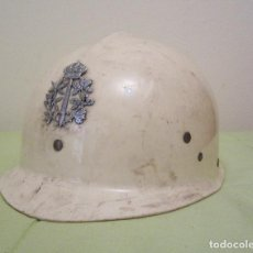 Militaria: BELGICA: CASCO DE ANTIDISTURBIOS DE LA POLICIA.. Lote 26843786