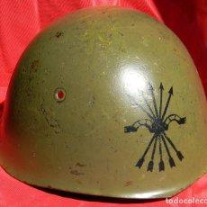 Militaria: OLLA ORIGINAL CASCO ITALIANO M 33 - FLECHAS NEGRAS - GUERRA CIVIL - 2 WW - CON MARCAJE.. Lote 85205860