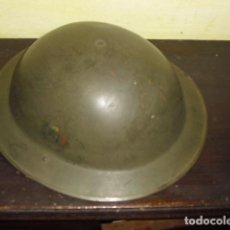 Militaria: CASCO EJÉRCITO BRITÁNICO - AÑOS 40 -. Lote 87481344