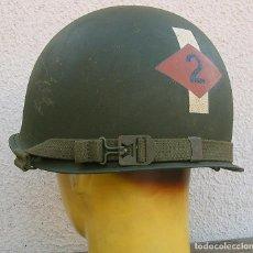Militaria: CASCO M1 2 BATALLÓN RANGERS. Lote 143083998