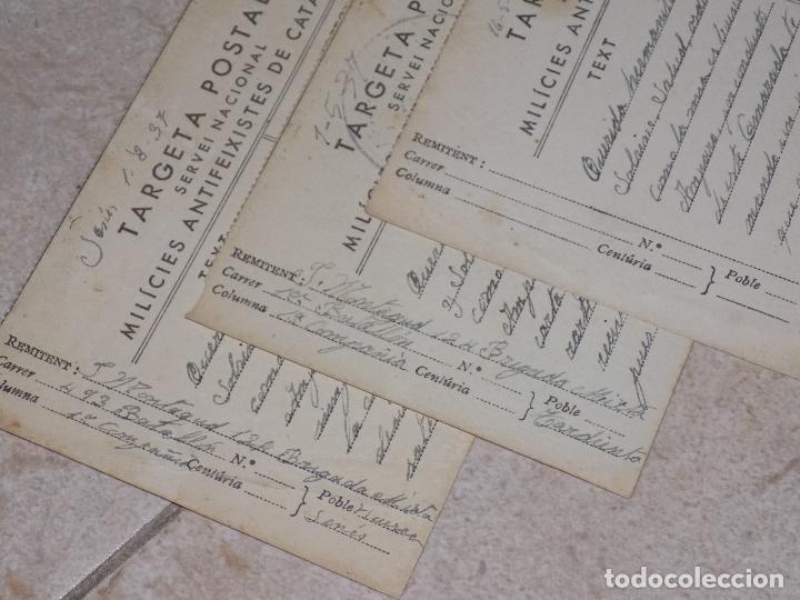 Militaria: CASCO TRUBIA REPUBLICANO Y TRES POSTALES DE MILICIAS ANTIFASCISTAS - Foto 5 - 89821336