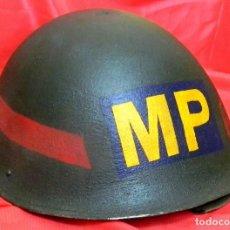 Militaria: CASCO ORIGINAL BRITANICO MK 4 - MARK IV - PERÍODO 1945 HASTA AÑOS 80 - POLICIA MILITAR.. Lote 90452309
