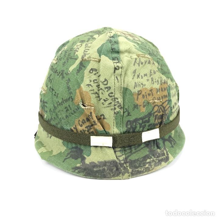Militaria: Casco de las Fuerzas Especiales de USA. Época Guerra de Vietnam. 100% Original. - Foto 2 - 91344560