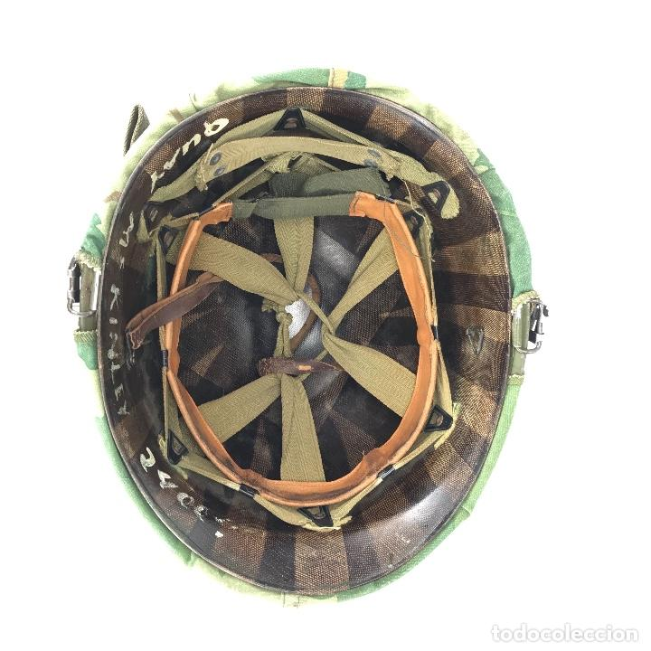 Militaria: Casco de las Fuerzas Especiales de USA. Época Guerra de Vietnam. 100% Original. - Foto 5 - 91344560
