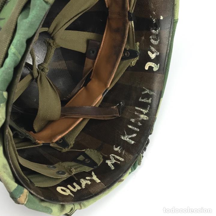 Militaria: Casco de las Fuerzas Especiales de USA. Época Guerra de Vietnam. 100% Original. - Foto 7 - 91344560
