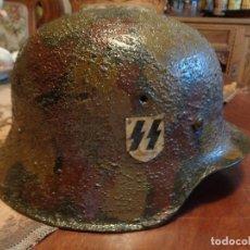 Militaria: CASCO ALEMÁN SEGUNDA GUERRA. Lote 92281980