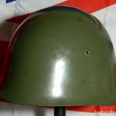 Militaria: ORIGINAL - CASCO MILITAR ITALIANO M33 - CON BARBUQUEJO - 2 GUERRA MUNDIAL - GUERRA CIVIL ESPAÑOLA. Lote 93279050