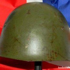Militaria: ORIGINAL - CASCO MILITAR ITALIANO M33 - CON BARBUQUEJO - 2 GUERRA MUNDIAL - GUERRA CIVIL ESPAÑOLA. Lote 153863405