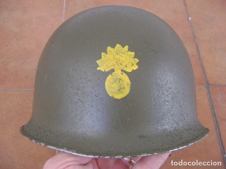 CASCO MILITAR FRANCES MOD,51 . COMPLETO . (Militar - Cascos Militares )
