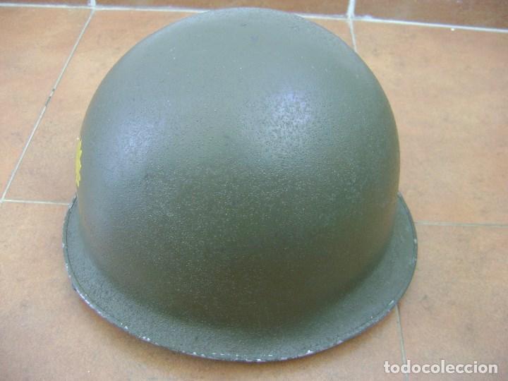 Militaria: CASCO MILITAR FRANCES MOD,51 . COMPLETO . - Foto 2 - 95017595