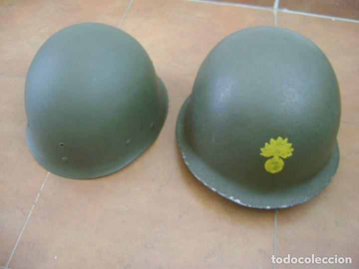Militaria: CASCO MILITAR FRANCES MOD,51 . COMPLETO . - Foto 3 - 95017595