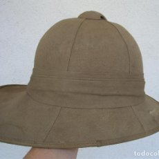 Militaria: SALACOT WOLSELEY GUERRA DE ÁFRICA, RIF,MELILLA,MARRUECOS. USADO POR EJ. ESPAÑOL DESDE 1909.SALACOFF. Lote 96523039
