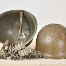 Militaria: ANTIGUO CASCO FRANCES SEGUNDA GUERRA MUNDIAL - CASCO DECORACION VINTAGE MACETERO PLANTAS. Lote 97905015