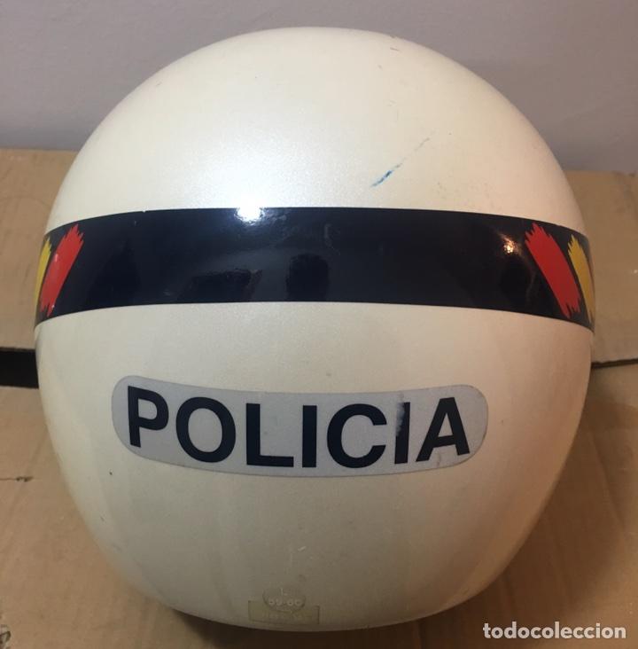 Militaria: CASCO DE MOTORISTA DE POLICIA NACIONAL. POLICÍA DE PROXIMIDAD - Foto 4 - 98649624