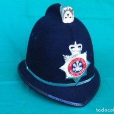 Militaria: OFERTA ESPECIAL: CASCO DE LA POLICIA BRITÁNICA DE SOUTH WALES. Lote 98864023