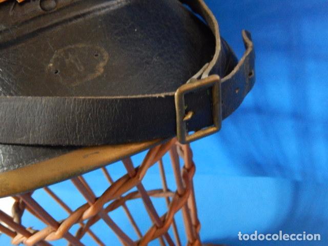 Militaria: España. Antiguo casco bombero. Logroño. Fabricación alemana por J. G. Lieb. Biberach. Riss - Foto 16 - 98943971